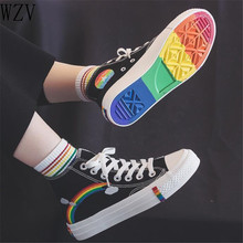 2020 Vulcanized Shoes Woman Sneakers Women's Fashion Canvas
