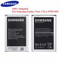100% Original Battery EB-BN750BBE for Samsung Galaxy Note 3 Neo SM-N750 N7505 N750K N750S Note3 Neo LTE 3100mAh with NFC