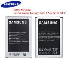 Original Batterie EB BN750BBE für Samsung Galaxy Note 3 Neo LTE SM N750 N7505 N750K N750S 3100mAh mit NFC