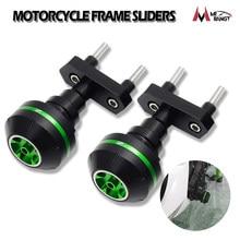 Pair Motorcycle Frame Sliders Falling Crash Pad Protector for Kawasaki Z800 Z1000 Z750 Engine Crash Protector