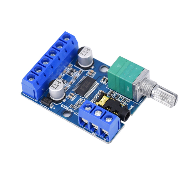 amplifier board Dual channel Stereo High Power Digital Audio  2*30W Amplificador DIY Module 12V 24V