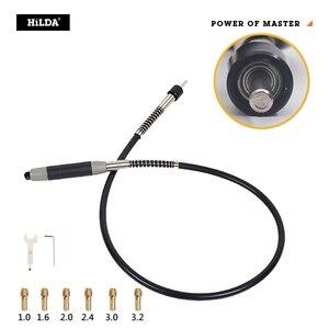 Image 3 - Hilda 400W Mini Elektrische Boor Grinder Variabele Snelheid Dremel Stijl Rotary Tool Mini Boor Met Flexibele As En Accessoires
