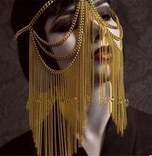 Máscara egipcia para mujer, accesorios Steampunk, Overwatch, Cosplay, Rave, Festival, atuendo, mascarillas Toda La Cara, sexys, 2020