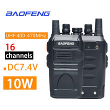 Oppxun para baofeng BF-999S rádio bidirecional walkie talkie 3 - 5km rádio cb fm transceptor uhf rádio marinha