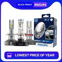 Светодиодная лампа Philips X-tremeUltinon светодиодный H4 H7 H8 H11 H16 HB2 HB3 HB4 9003 9005 9006 автомобилей головной светильник авто лампы 6000K белый 200% более яркий 2X