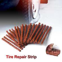 100 шт авто ремонт шин plug бескамерная автомобильная шина Печать