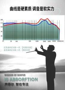 Image 4 - Senfer KP520 ii低音樹脂3Dで耳イヤホンdj hifiモニターmmcx銀W80 W60 W40 IE80S k3003 XBA3 UM50