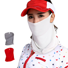Skin-Care Golf-Sunscreen Sports Women Summer Face Collar Ourdoor Sun-Protection Stretch