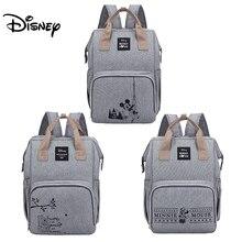 Disney Minnie Mickey bezi çanta sırt çantası mumya analık çanta bebek çantası büyük kapasiteli bebek bezi çanta düzenleyici yeni