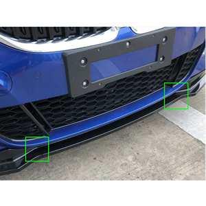3 шт./компл. передний бампер из углеродного волокна для BMW 3 серии G20 2019-2020 автомобильный Стайлинг передний спойлер для губ Передняя части бампера