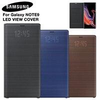Samsung original led capa de telefone para samsung galaxy note 9 note9 SM-N9600 SM-N960F SM-N960U n960f sono função cartão bolso