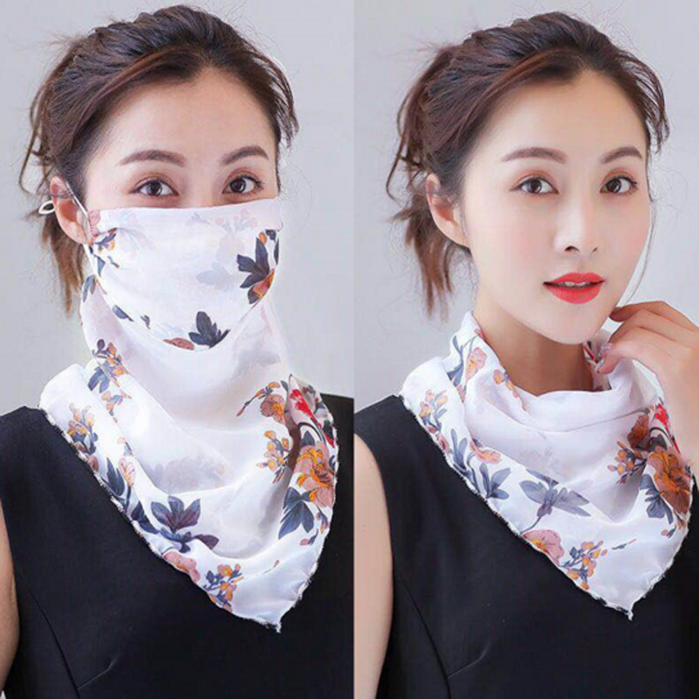 2020 Hot Sell Mouth Mask Lightweight Face Mask Scarf Sun Protection Mask Outdoor Riding Masks Protective Scarf Handkerchief D30