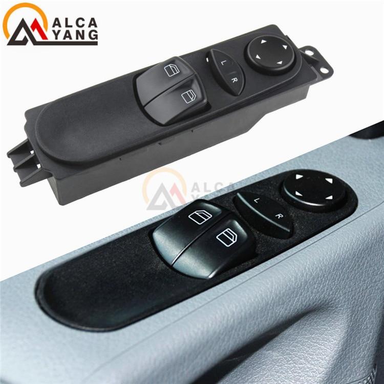2 x Window Switch Panel Bouton avant droit pour Mercedes Classe E
