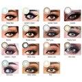 Модные Контактные линзы на глаза серии 3 тона LAREEN Butterfly International цветные