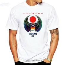 Journey Japan Tour 81 Men'S T Shirt Scarab Rock Band Printing Tee Shirt