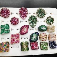 GODKI Monaco Design Luxury Statement Stackable Ring For Women Wedding Cubic Zircon Engagement Dubai Punk Bridal Top Finger Rings