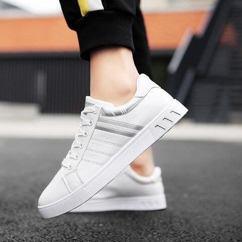 2019 Spring White Shoes Men Shoes Mens Casual Shoes Fashion Sneakers Street Cool Man Footwear Zapatos De Hombre Tenis Masculino Multan