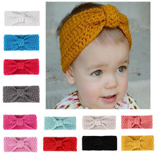 Baby Knitted Headbands of All Ages Soft Knitting Hook Top Headscarf Cute Childrens Warm