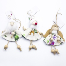 2019Festival Decoration Cute Christmas Angel Hanging Ornament Xmas Tree Pendant Holiday Doll Lovely Gift