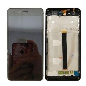 Image 4 - Pantalla LCD de 5,0 pulgadas con marco para ZTE Nubia Z11 mini NX529J, montaje de digitalizador con Sensor táctil, nueva