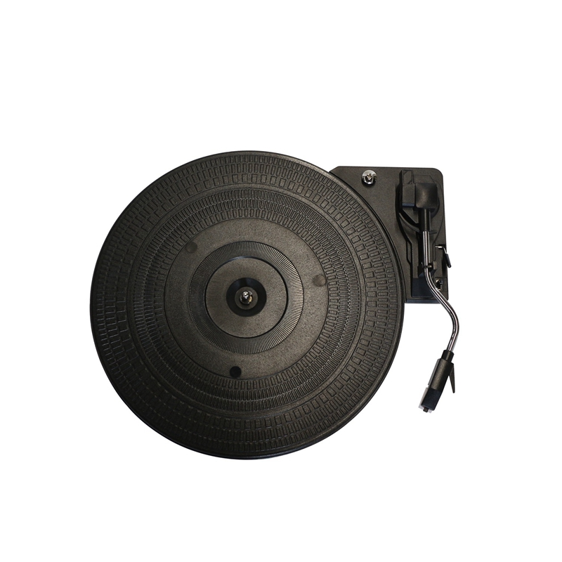 28Cm Plastic Turntable 33/45/78Rpm Automatic Curve Arm Return Record Player Turntable Gramophone For Lp Vinyl Record Player