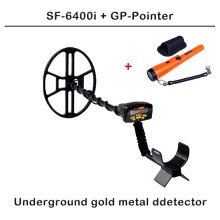 Free shipping  Professional Metal Detector SF-6400i Underground Depth 2.5m Scanner Search Finder Gold Detector Treasure Hunter