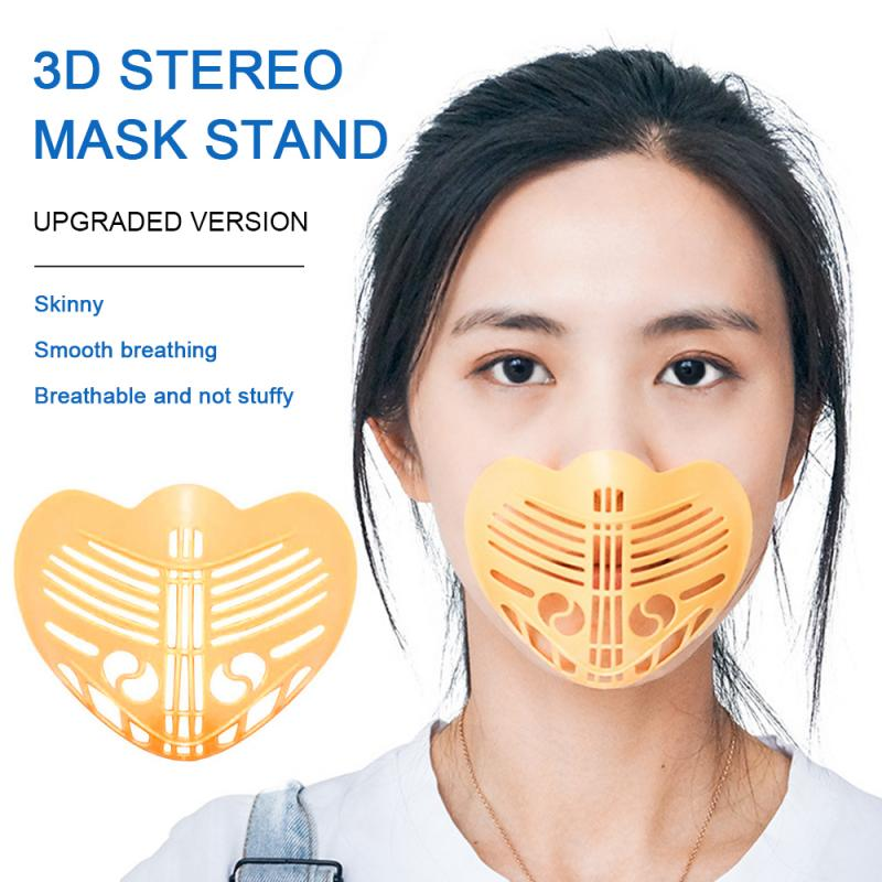 Face Mask Holder Breathable Unisex Reusable Washable Durable 3D Anti Lipstick Blooming Adult Face Shield Bracket Dropshipping(China)