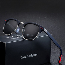 Fashion Classic Polarized Sunglasses Men Women Vintage Glasses Brand Designer Retro Sun Glasses Female Male Mirror Sunglass Top цена 2017