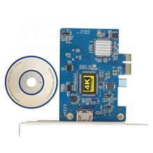 Video-Capture-Card PCI-E To 4K for Win7/win8 30hz-Record-Resolution