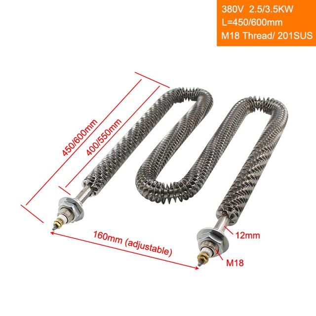 Water Heating Element M14 Thread 2KW 220V 380V 110V Type M