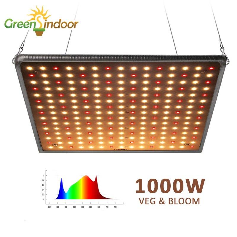 Растительный тент 3500K 1000W светодиодный светильник для выращивания панельный полный спектр фитолампа для растений светодиодный светильник s...
