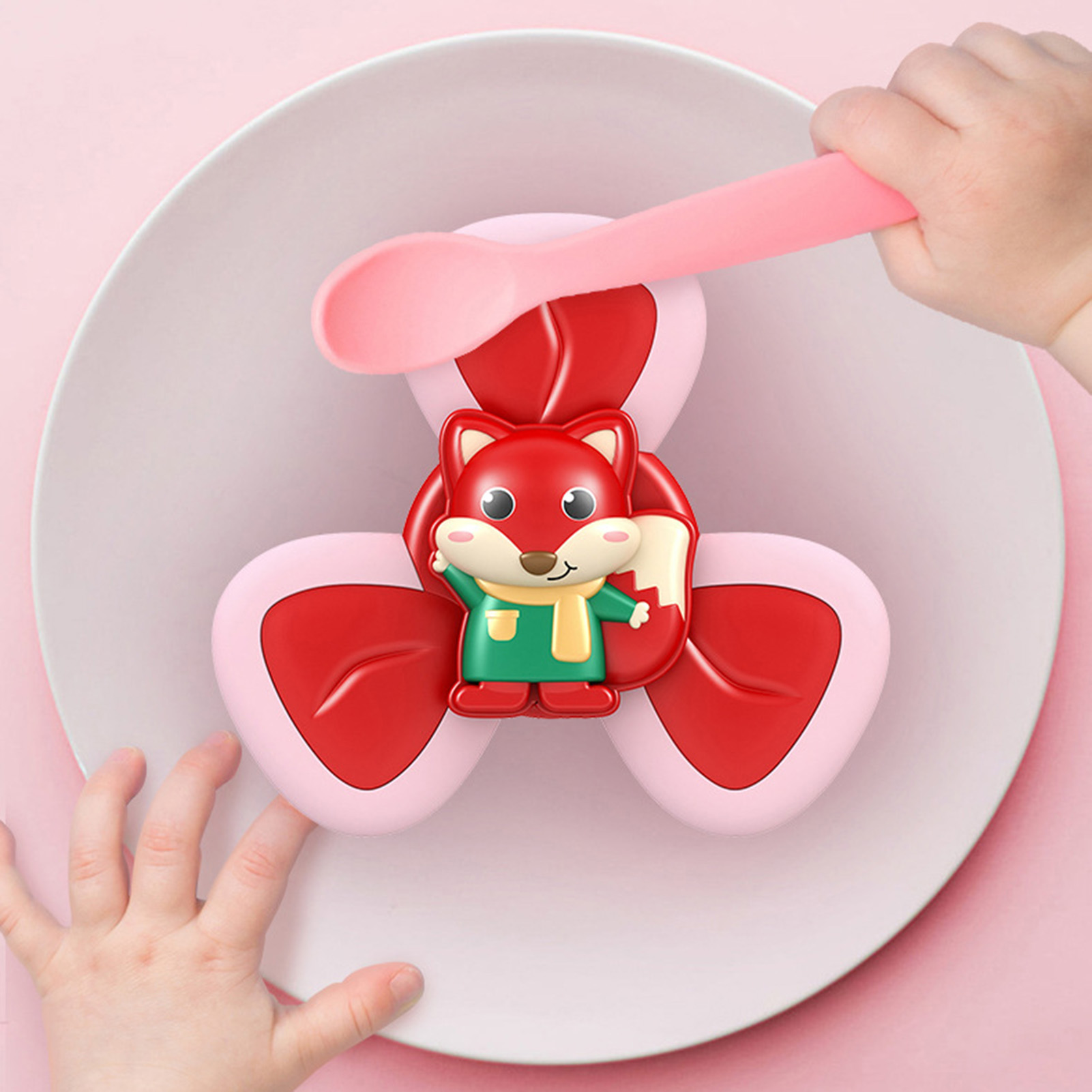 Antistress Toy Fidget-Toys Sucker Relief-Spinner Spinning-Top Dimple-Favors Baby Rotating-Teething img3