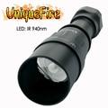 UniqueFire 1605 IR 940NM светодиодный светильник для вспышки 38 мм объектив инфракрасный светильник ночное видение троч Перезаряжаемый для охоты