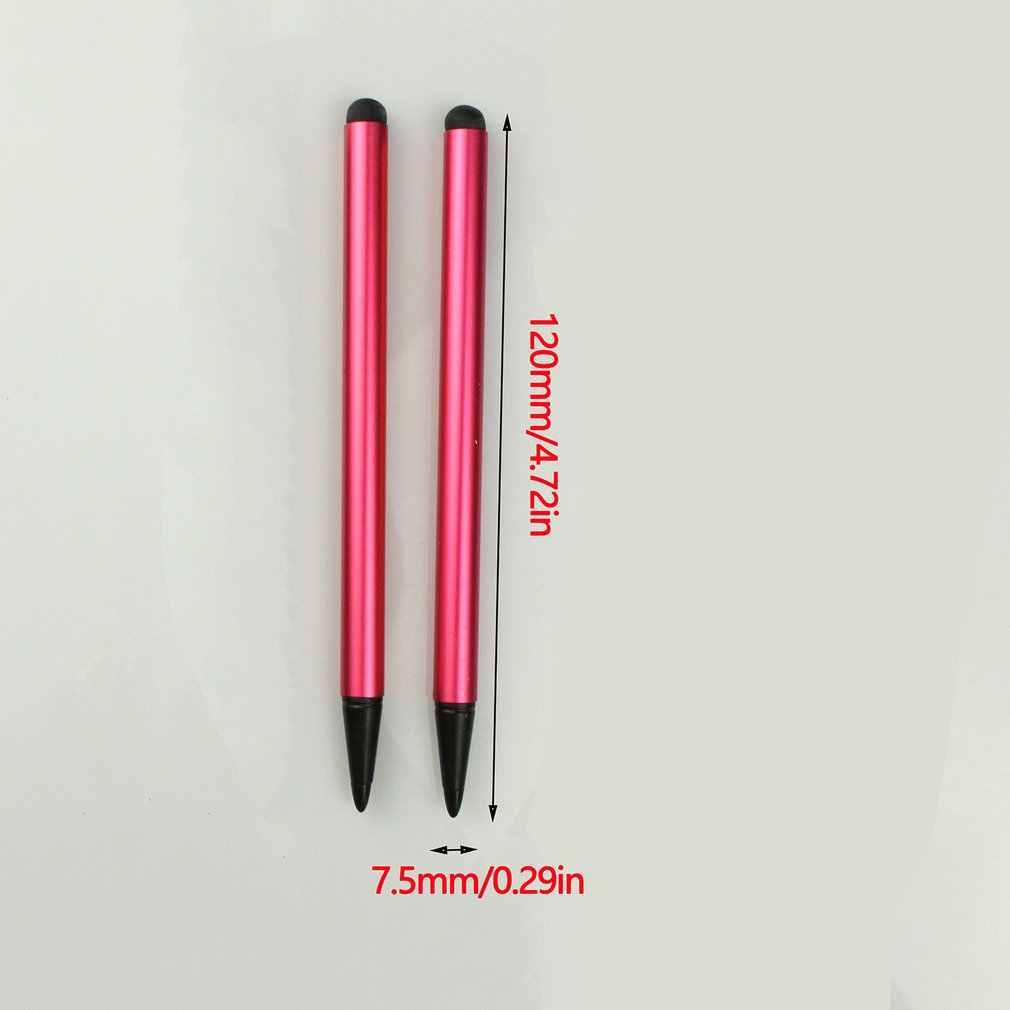 タッチスクリーンペンスタイラスユニバーサルタッチスクリーンペン容量性スタイラスペン用カー GPS ナビゲーターポイントラウンド薄型先端