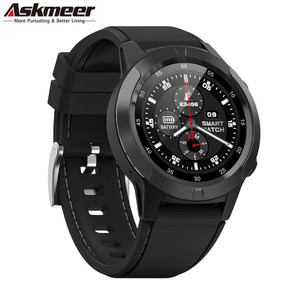 ASKMEER M4 Смарт-часы Поддержка SIM и Bluetooth телефонные звонки, GPS Smartwatch телефон для мужчин и женщин IP65 водонепроницаемый монитор сердечного ритма ч...