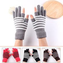 1 пара носков в стиле унисекс трикотажные зимние перчатки кашемир