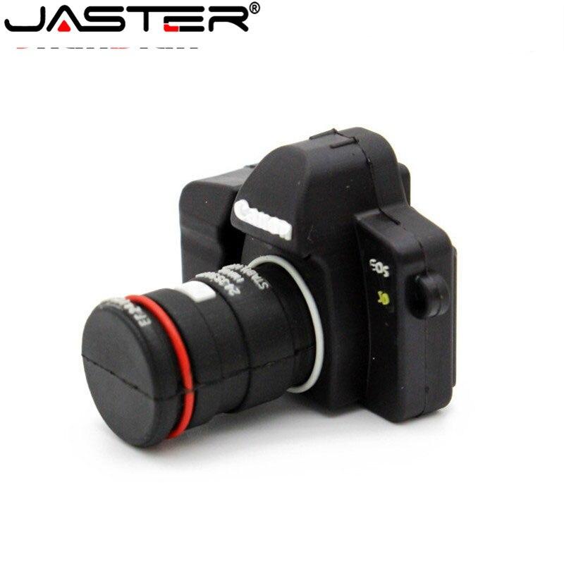 JASTER New Camera USB Flash Drive Pen Drive 64GB 32GB 16GB 8GB 4GB USB2.0 Memory Stick Thumb Pen Stick Disk Memory Gift
