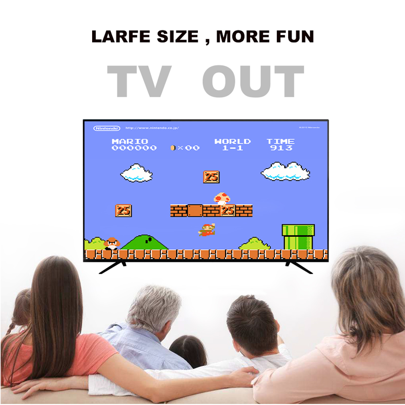 USB Wireless Handheld TV Video Game Console Build In 568 Classic 8 Bit Game mini Console Dual Gamepad HDMI Output