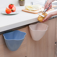 Kitchen Cabinet Door Hanging Trash Can Home Creative Without Cover Plastic Storage Bin Bedroom Mini Bowl For tool