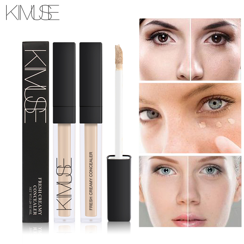 KIMUSE Foundation Soft Matte Long Wear Oil Control Concealer Liquid Foundation Cream Fashion Womens Makeup Concealer Cream image