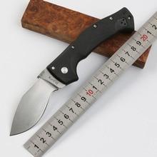 Folding Knife Spartan D2 Blade nylon+fiber Handle Outdoor Camping Hunting pocket tactical Survival Knives Karambit EDC Tools