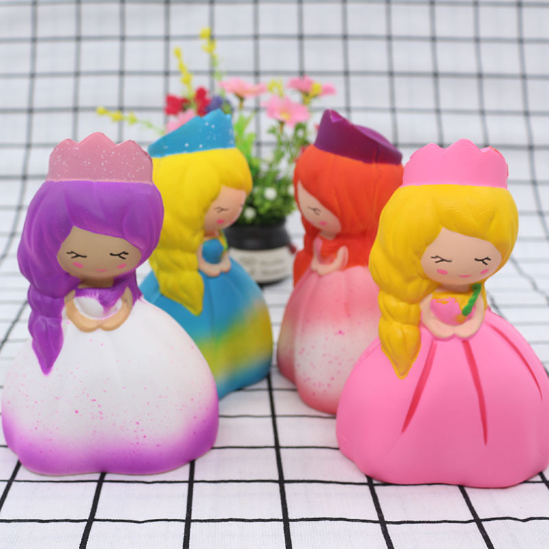 Squeeze Toys Stress Relief Toy Simulation Princess Products Spot Squishy Simulation Princess Slow Rebound Toy