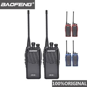 Image 1 - 2 pièces 100% Original Baofeng Radio Comunicador BF K5 talkie walkie hôtel émetteur récepteur de poche Cb Radio K5 jambon Radio Woki Toki
