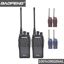2 pz 100% originale Baofeng Radio Comunicador BF K5 Walkie Talkie Hotel ricetrasmettitore portatile Cb Radio K5 Ham Radio Woki Toki