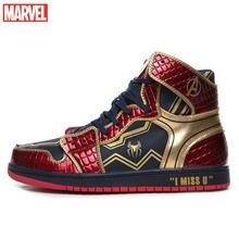 Мужские высокие кроссовки marvel мужские «Человек паук» «Капитан