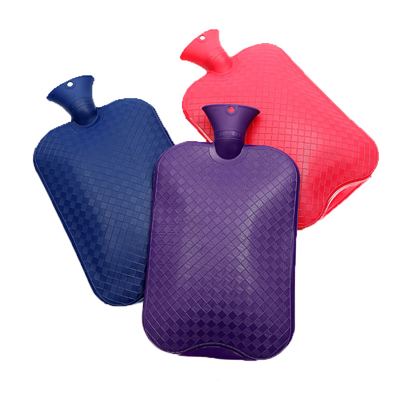 1000ml Thick Hot Water Bottle Anti scalding Rubber Injection Water Warm Bag High Density Winter Hand Warmer Girls Pocket Water B|Hot Water Bottles| |  - title=