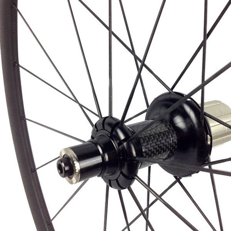 Image 2 - Carbon Road Bike Wheelset Profile 35/38/45/50/55/75mm with Internal for Tubuless 700C Bicycle Wheels with Straight Pull R36 HubBicycle Wheel   -