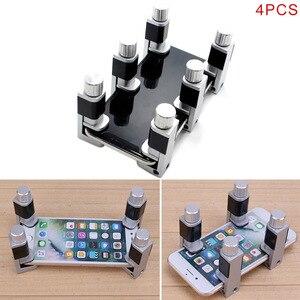 Image 3 - Braçadeira de fixação da tela lcd 4 pçs/set, clipe de fixação para reparação do telefone decalques jr