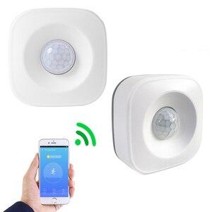 Image 4 - Inteligente sem fio pir sensor de movimento detector compatível para o google casa inteligente alexa casa iluminação pir interruptor sensível noite l