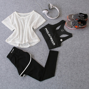 Sportswear 3 Piece Yoga Set Wo